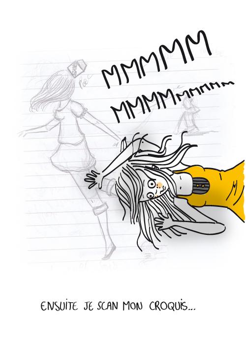 Ensuite je scan mon croquis. Illustratrice qui a du talent. Un jolie blog à découvrir. Que du plaisir pour les yeux. Ammateurs de dessins sympas, je vous le conseil ! Illustratrice francaise...