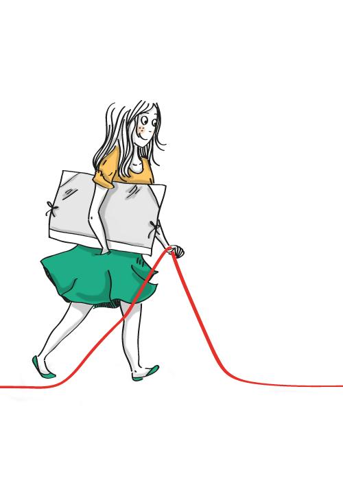 Graphiste illustratrice. Blog BD sympa. Tendance et dans le vent. Je vous le conseil vivement !